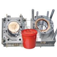 Buy cheap plastic injection bucket moulding, pail mold,paint mold making mould from wholesalers