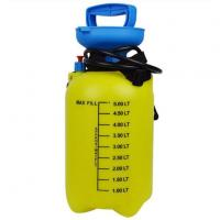 Buy cheap Pump Up Action Spray Bottle for Garden Good Quality Trigger Sprayer Head 5L Yellow Pressure from wholesalers