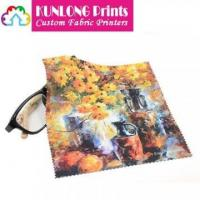 Buy cheap Promotional Microfiber Heat Transfer Printing Cleaning Cloth (KLPMC-004) from wholesalers