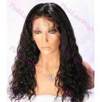 Buy cheap Ava #1 Jet Black Spanish Wave 4.0 Full Lace Wig in Lengths 14-20 inches from wholesalers