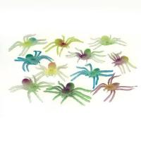Buy cheap Glow in the Dark Spiders, pk/12 from wholesalers