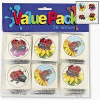 Buy cheap Ladybug Temporary Tattoos, pk/36 from wholesalers