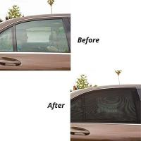 Buy cheap SET OF 2 UNIVERSAL FIT CAR REAR WINDOW SUN SHADES product