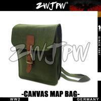 Buy cheap GERMAN MILITARY German WW2 Army Canvas Map Backpack Green from wholesalers
