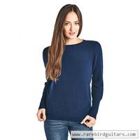 Buy cheap High Style Women's 100% Cashmere Long Sleeve Crew Neck Sweater from wholesalers