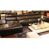 Buy cheap L shaped sex chesterfield sofa modern sectional furniture living room leather sofa set designs from wholesalers
