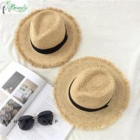 Buy cheap Best Selling High Quality Raffia Straw Panama Hats For Women from wholesalers