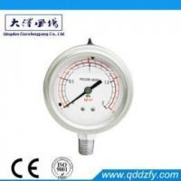 Buy cheap Pressure Gauge Series Lower Mount Liquid Filled Manometer from wholesalers