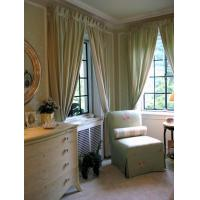 Buy cheap Green Bedroom Curtains What Color With Walls from wholesalers