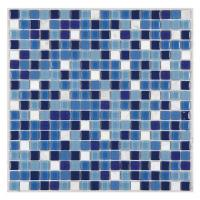 Buy cheap Pattern Design Mosaic Mixed Color Swimming Pool Ceramic Tiles from wholesalers