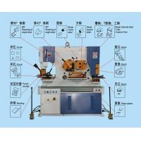Buy cheap Q35Y-20 multifunctional hydraulic ironworker from wholesalers