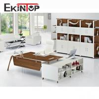 Buy cheap L-shaped office desk for home or professional office from wholesalers