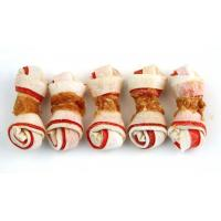 Buy cheap Chicken Series Product NameChicken Wrapped Double Colored Rawhide Bone from wholesalers