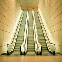 Buy cheap Escalator Travelator For Public Travel With AC VVVF Indoor Auto Start Or Stop Residential Escalator from wholesalers
