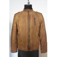 Buy cheap Men's PU jacket ,fake leather jacket ,men's fashion style No: 4138801 from wholesalers