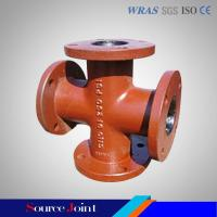 Buy cheap AWWA C110/C153 ductile iron pipe fittings from wholesalers
