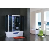 Buy cheap Luxury Fashion Design Glass Computerized Complete Ozonator Hydromassage Steam Bathroom Shower Cabin from wholesalers