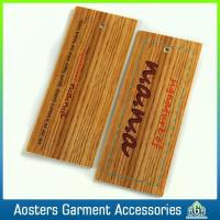 Buy cheap Custom Apparel Thin Printable Hang Tags on Clothing from wholesalers