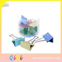 Buy cheap PVC Box Packing Color Binder Clip from wholesalers