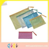 Buy cheap Plastic Envelopes File Folder Bag With Zip Closure from wholesalers