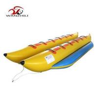 Buy cheap Customized inflatable watersports banana boat ,banana boat agua inflable from wholesalers