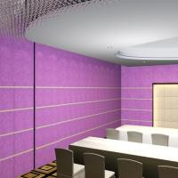 Buy cheap Acoustics Panels Top Grade PET Noise Absorbers Material Better Than PVC from wholesalers
