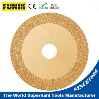 Vacuum Brazed Diamond Saw Blade for Metal and Stone Cutting