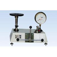 Buy cheap Cement & Concrete Testing Equipment Dead Weight Pressure Gauge Testers from wholesalers
