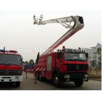 Buy cheap Aerial Ladder Fire Truck from wholesalers