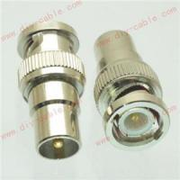 Buy cheap BNC male plug to IEC PAL DVB-T TV male plug RF adapter connector from wholesalers
