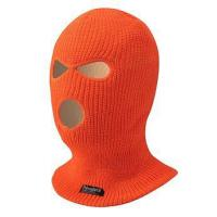 Buy cheap beanie hat customize winter knitted balaclava face mask 3 hole from wholesalers