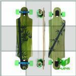 Buy cheap 43*10 inch double kicktail bamboo longboard Complete Complete from wholesalers