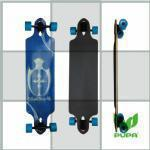 Buy cheap 36*9 inch pintail bamboo longboard from wholesalers