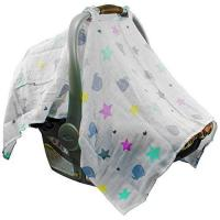Buy cheap Mum n Me Baby Car Seat Cover; Organic Cotton Muslin, Suitable for Boys and Girls from wholesalers