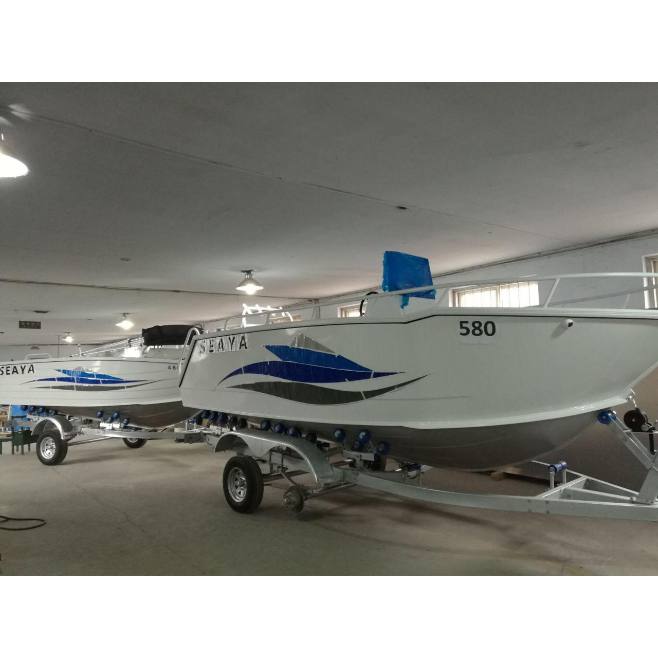Buy cheap ALUMINUM BOAT SEAYA580 with CE certificate from wholesalers