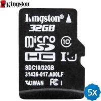 Buy cheap Cell Phones 5 x KINGSTON Original 32GB Class 10 Micro SDHC Card from wholesalers