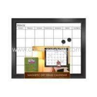 Buy cheap White Erasable Metal Calendar Board Magnetic Dry Erase Calendar from wholesalers