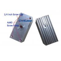 Buy cheap Aluminum radiator for laser module heat sink Inner hole 12mm from wholesalers
