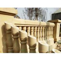 Buy cheap Architectural & Landscape Stone Beige /Buff Sandstone Balusters & Balustrades from wholesalers