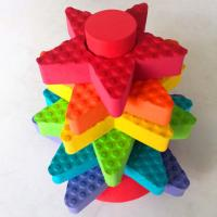 Buy cheap 8 pcs EVA colorful star stacker from wholesalers