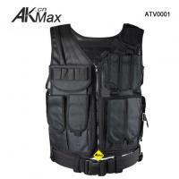 Buy cheap U.S SWAT Classic Black Tactical Combat Assault Vest Polyester from wholesalers