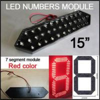 Buy cheap 15 red color digita numbers module,7 segment of the modules,High brig... from wholesalers