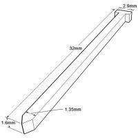 Buy cheap 16 Gauge Finish Nail - 32 mm from wholesalers