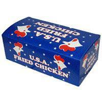 Boxes & Trays USA CHICKEN BOX 400 - SMALL FC0