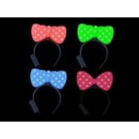 Buy cheap Blinking LED Light Headband Dot Bow Party Costume X 2pcs from wholesalers