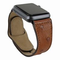 Buy cheap Piel Frama 733 Tan Ostrich Leather Strap for Apple Watch (42mm) from wholesalers
