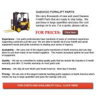 Buy cheap Forklift Parts For Sale Daewoo Forklift Part from wholesalers