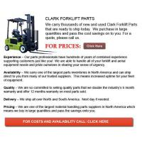 Buy cheap Forklift Parts For Sale Clark Forklift Parts from wholesalers