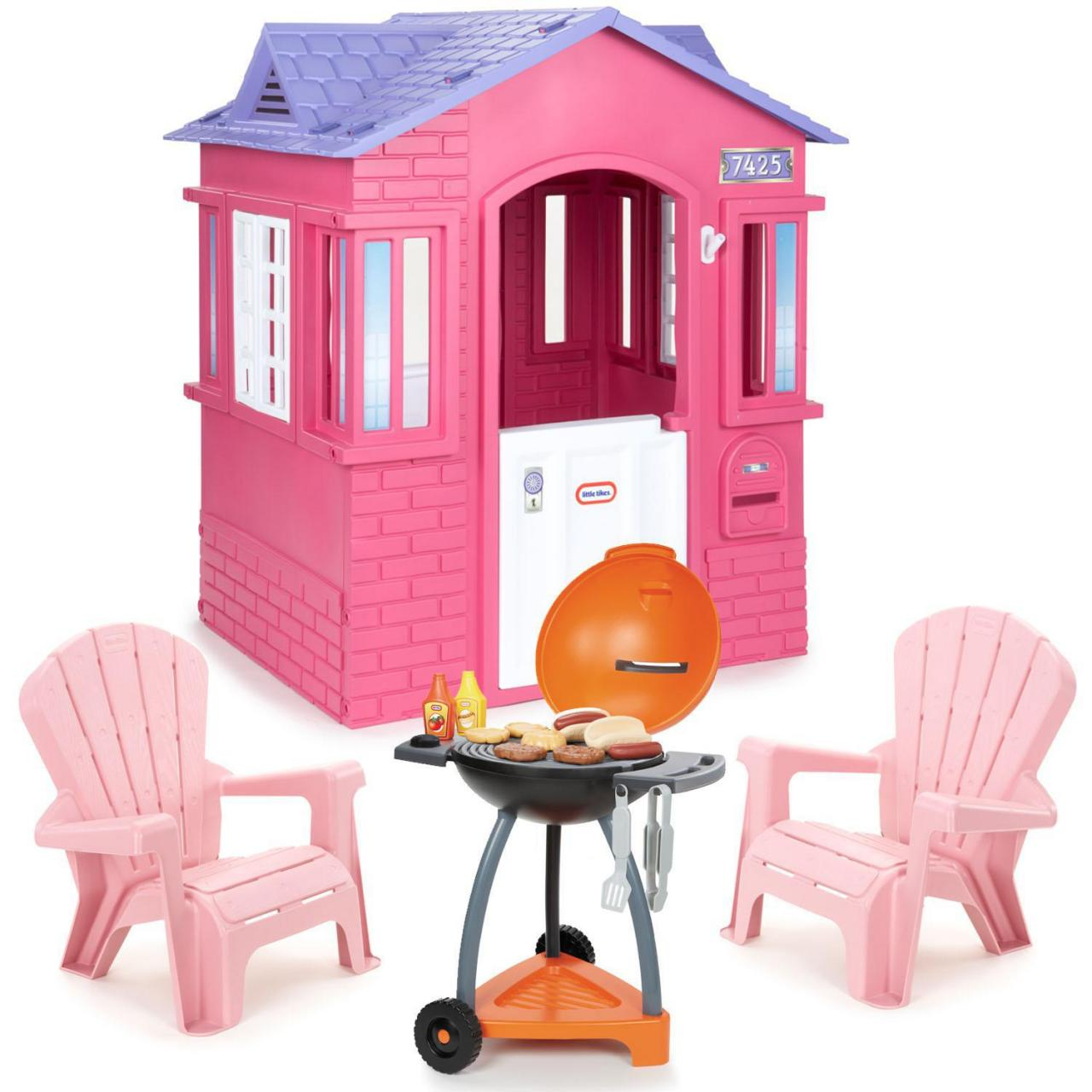 Buy cheap Playhouses Cape Cottage Playhouse Pink Bundle from wholesalers