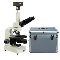 Buy cheap OMAX 40X-2000X 18MP USB3.0 Digital PLAN Phase Contrast LED Trinocular Microscope with Aluminum Case from wholesalers